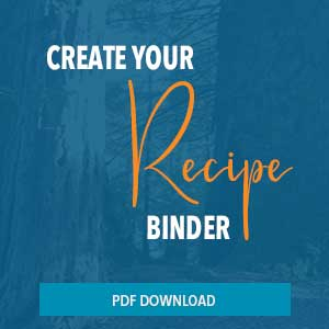 create your own recipe binder