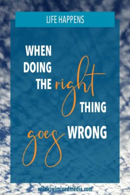 Pinterest pin when doing the right thing goes wrong