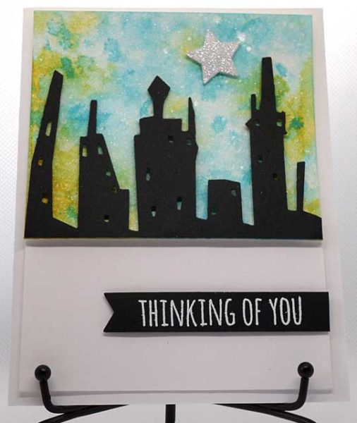 Thinking of you card front