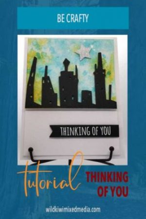Pin for thinking of you card